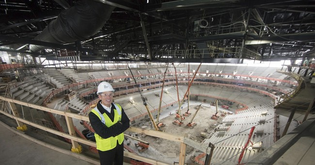 New home for Red Wings, Pistons raises a city's hopes