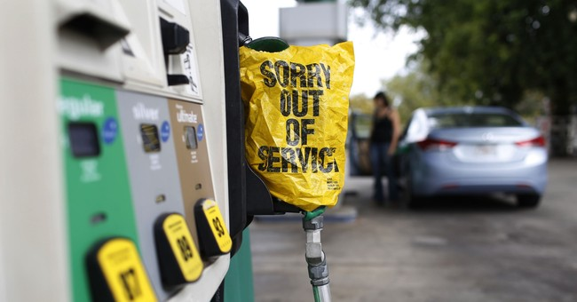 Gasoline prices head higher while motorists panic