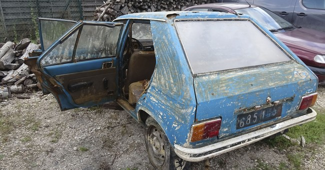 Back from watery grave: car stolen in 1979 in France