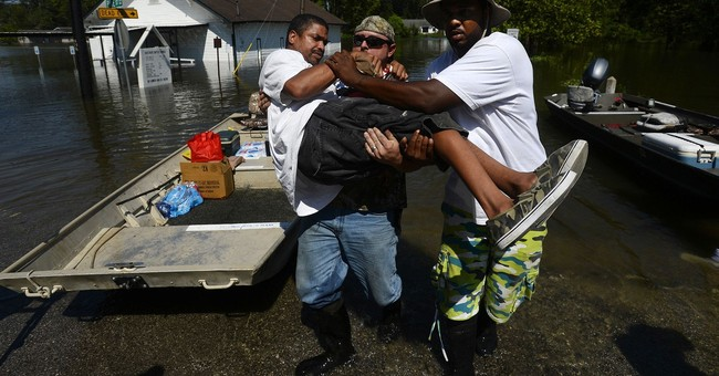 The Latest: Confirmed Harvey-related death toll now 42