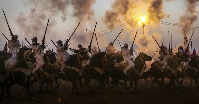 AP PHOTOS: Ancient tradition of horsemanship in Morocco