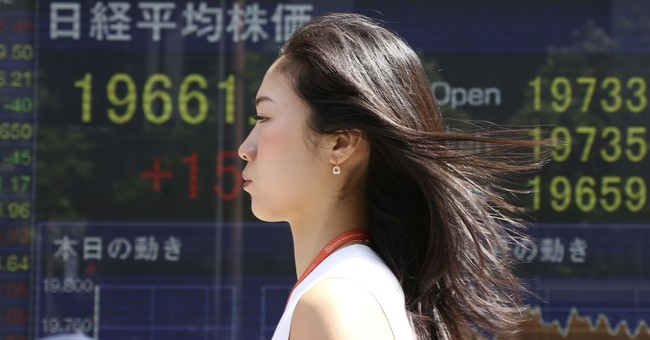 Global stocks mostly higher ahead of US jobs data