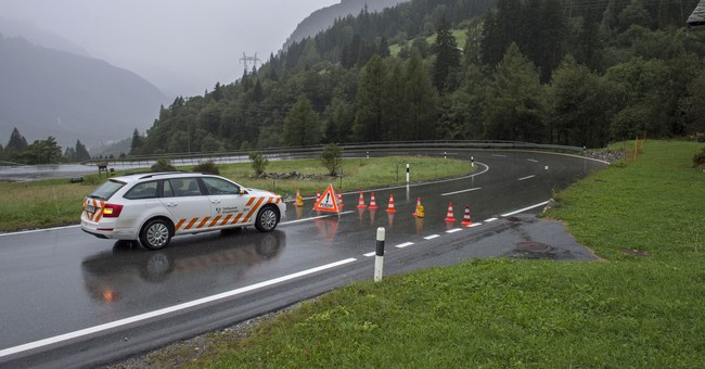 New mudslide hits villages in Switzerland, crushing homes