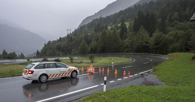 New mudslide hits villages in Switzerland, crushing homes