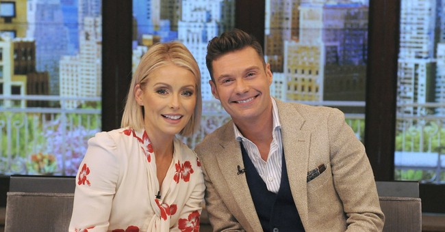Easy does it: Kelly and Ryan kick off a new 'Live' season
