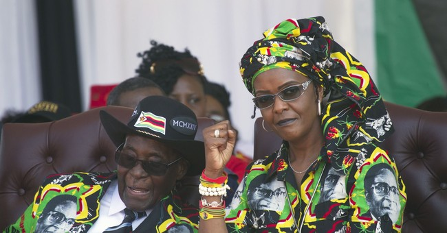 Zimbabwe's 1st lady speaks out, but not on assault claim