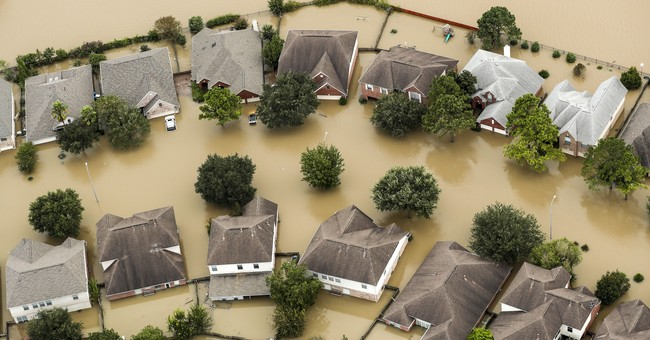Booming Houston built over land meant for flood projects
