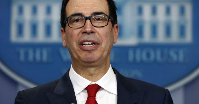 Mnuchin: Congress must tie Harvey aid to raising debt limit