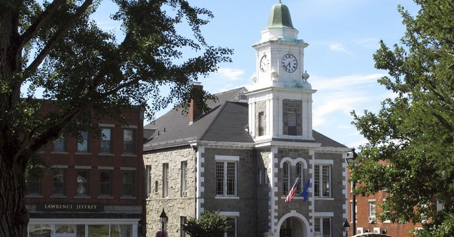 Odd inheritance: 1889 landmark courthouse with clock tower
