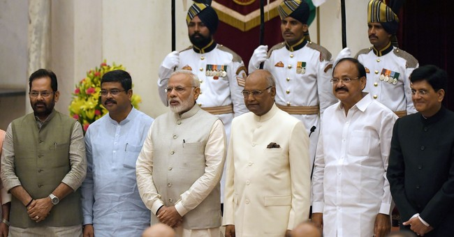 Indian Prime Minister Modi drops ministers as economy slips