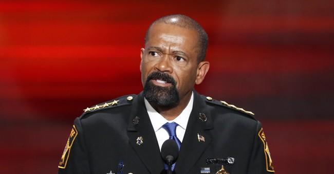 Former Milwaukee Sheriff Clarke joining Trump PAC