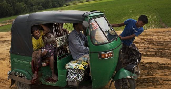 UNHCR: 123,000 Rohingya refugees have fled Myanmar