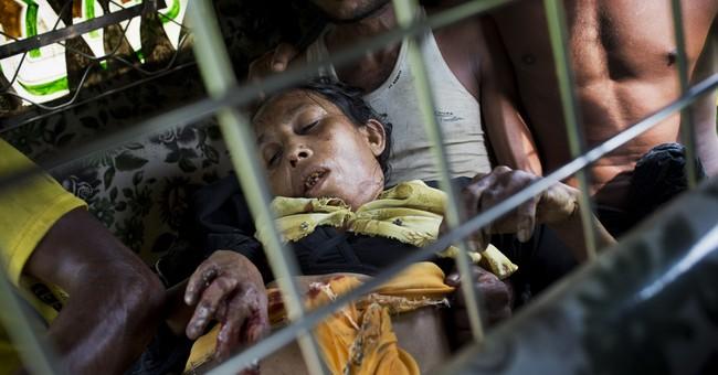Myanmar accused of laying mines, causing Rohingya injuries