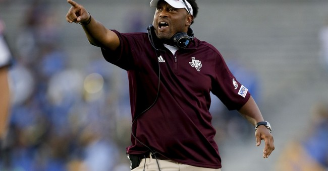 A&M coach Sumlin receives racist and threatening letter