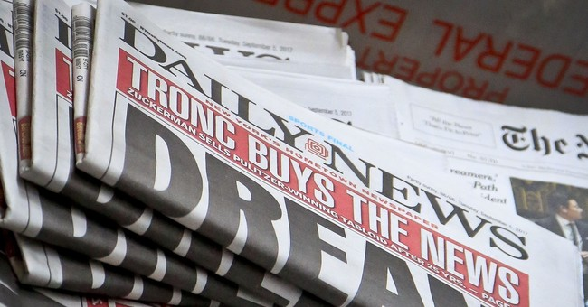 The Daily News, a storied New York tabloid, is sold to Tronc