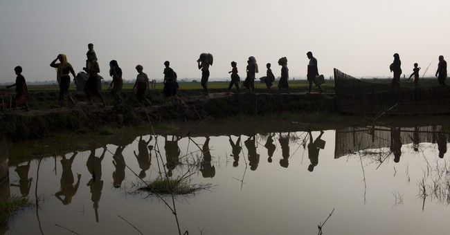 Myanmar's Rohingya beat a perilous path in search of safety