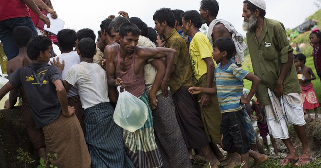 The Latest: UN chief urges Myanmar to give Muslims status