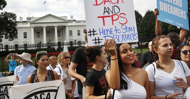 The Latest: Trump vows to revisit DACA if Congress stumbles