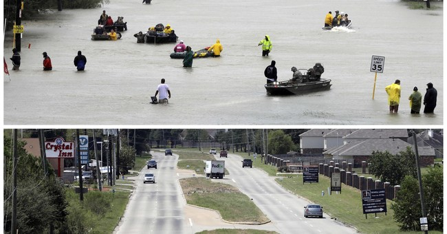 Debris shows Houston's recovery from Harvey, in photos