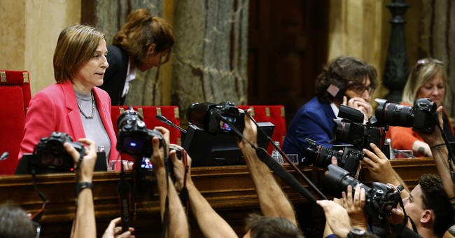Catalonia officially sets independence vote for Oct. 1