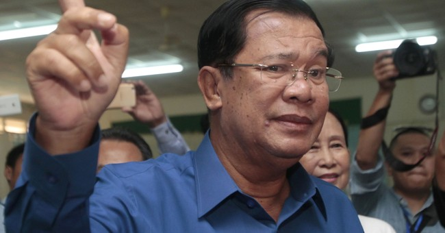 Cambodian PM: I'll rule 10 more years; 'don't be jealous'