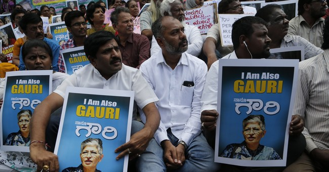 Indian journalist gunned down outside her home