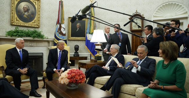 The Latest: Trump agrees to 'good deal' on spending, debt
