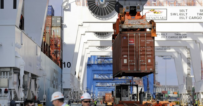 US trade deficit widened slightly in July as exports slipped