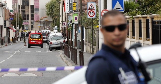 The Latest: Explosive used by IS found in France apartment