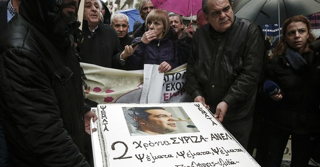 Greece: Tsipras marks 2 years as PM with no-austerity pledge