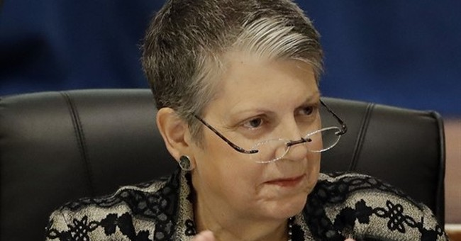 Janet Napolitano avoids health, focuses on university issues