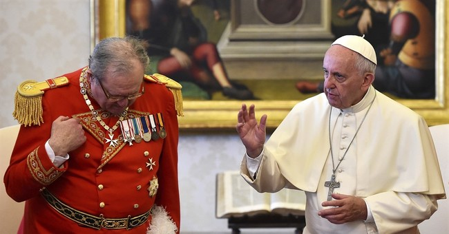 Knights of Malta insist on sovereignty amid papal takeover