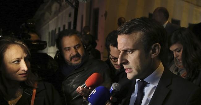 France presidential hopeful Macron gains support
