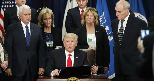 The Latest: Trump expected to shift toward economy