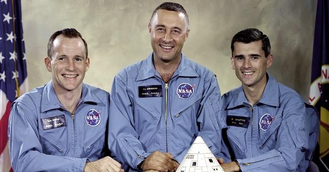 Apollo 1's crew: a Mercury astronaut, spacewalker and rookie