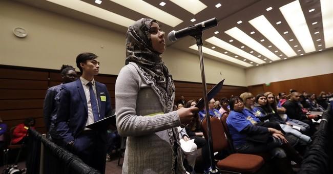 Janet Napolitano avoids health, focuses on university issues
