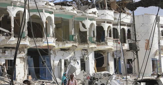 Extremist gunmen storm hotel in Somali capital, 11 killed