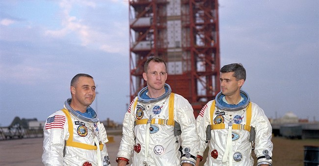 NASA opens exhibit on 50th anniversary of Apollo 1 fire