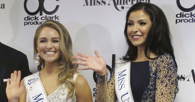 The Latest: Miss North Dakota is crowned Miss America 2018