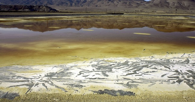 AP NewsBreak: Nevada wants out of Superfund listing at mine