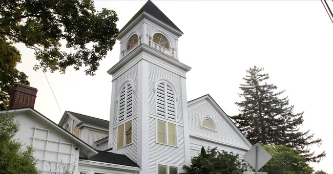 The Latest: Court eyes Massachusetts church-state dispute