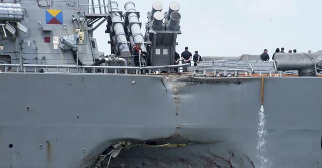 Navy says tight budget, stress on fleet don't excuse crashes