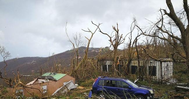 Irma turns Caribbean island paradises into nightmares