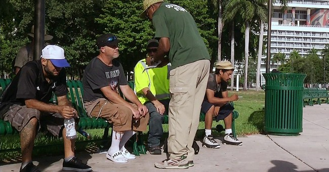 Miami shelters homeless against their will as Irma closes in