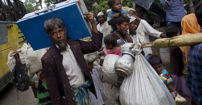 The Latest: Holocaust Museum 'horrified' by Myanmar attacks