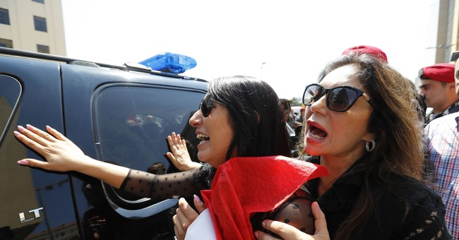 Lebanon holds state funeral for slain soldiers