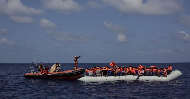 The Latest: 217 migrants found in Black Sea seeking Europe