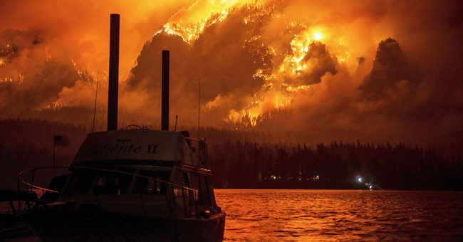Wildfire smoke clearing in US West as storms move through