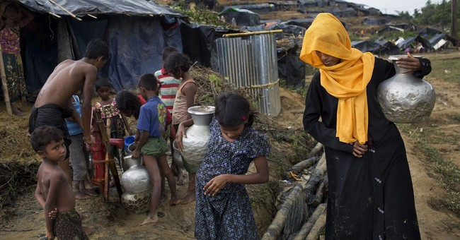 The Latest: Bangladesh lambasts Myanmar for 'atrocities'