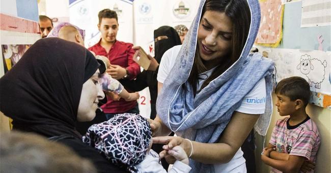 AP Interview: Priyanka Chopra urges more Syria refugee help